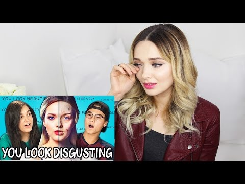 MYPALESKIN REACTS TO 'TEENS REACT TO YOU LOOK DISGUSTING'  // MyPaleSkin