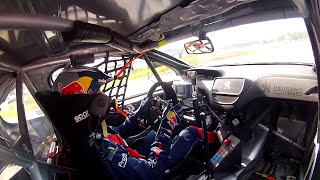 Timmy Hansen iON Camera Onboard: Holjes RX Supercar Final - FIA World RX