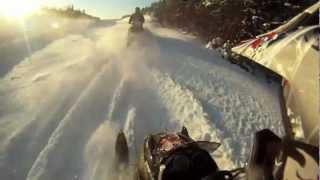 10. 2009 Ski-doo Summit 550f TCH boondock/ditchbang GoPro HD