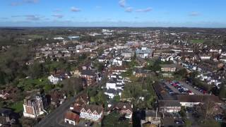 Leatherhead United Kingdom  City new picture : Drone Flight Over Leatherhead, Surrey, UK