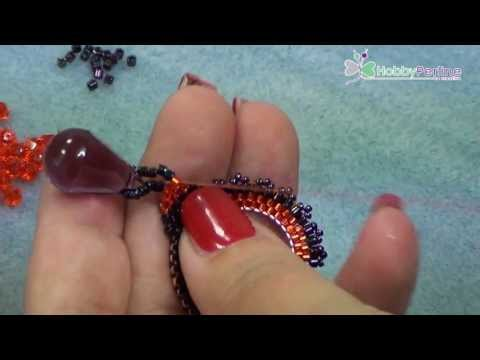 Orecchini Purple Drops | Tutorial - HobbyPerline.com