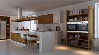 Дизайн интерьера кухни от Артема Евстигнеева Мария