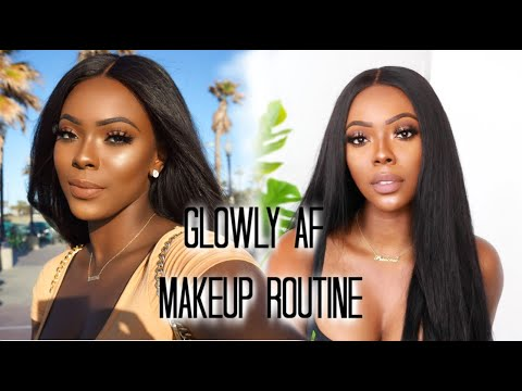 MY FLAWLESS GLOWLY FOUNDATION ROUTINE | PERFECT FOR SUMMER