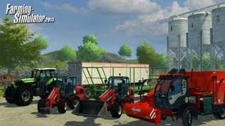 Farming Simulator 2013 videosu