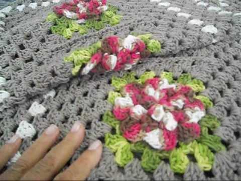 passadeira com flores jogo de cozinha 3 parte /final