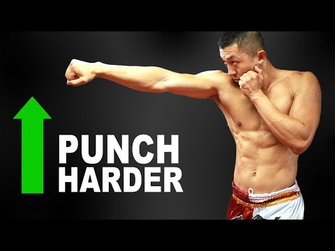 Muay Thai Champion Shares How To INCREASE Your Punching Power