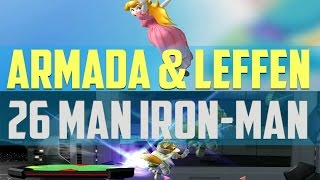 Video Armada vs Leffen 26 Character IRON MAN - $100 MM MP3, 3GP, MP4, WEBM, AVI, FLV Februari 2018