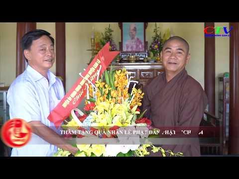 Thăm tặng quà nhân Đại lễ Phật đản Phật lịch 2564