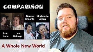Video A Whole New World | Lea Salonga & Brad Kane, Morissette & Darren | Jerod M Comparison MP3, 3GP, MP4, WEBM, AVI, FLV Juni 2019