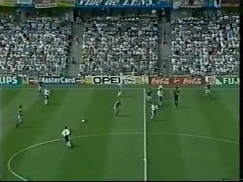1998 World Cup Yugoslavia Vs Germany (Dragan Stojkovic)