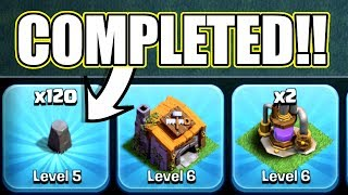 Video THE LAST EVER LEVEL 5 WALL!! - Clash Of Clans - PREPARING FOR BH7! MP3, 3GP, MP4, WEBM, AVI, FLV Agustus 2017