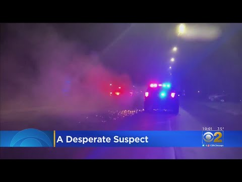Desperate Suspect Leads Police On Chase From Northwest Indiana To Chicago's South Side