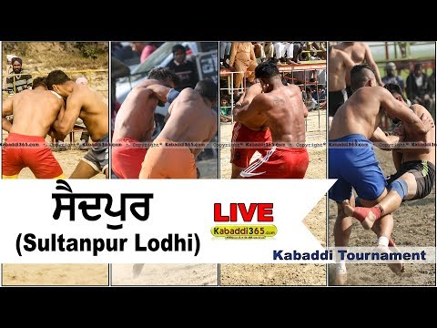 Video 🔴 [Live] Saidpur (Sultanpur Lodhi) Kabaddi Tournament 01 Apr 2018 download in MP3, 3GP, MP4, WEBM, AVI, FLV January 2017