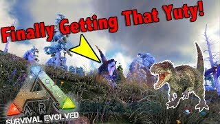 Failing At Taming A Yutyrannus And Daeodon!! || Small Tribe Servers PvP Ep 24! Ark Survival Evolved!