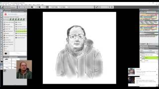 Time-lapse Videos of my life drawings