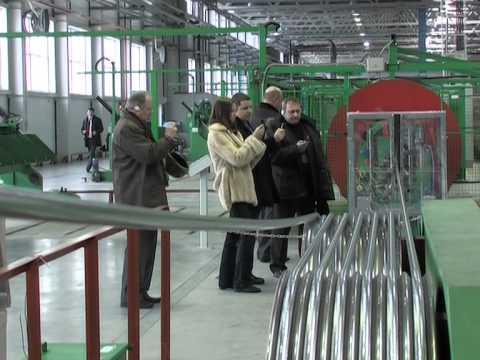 Делегация «Интеркабель» на заводе «ТАТКАБЕЛЬ»