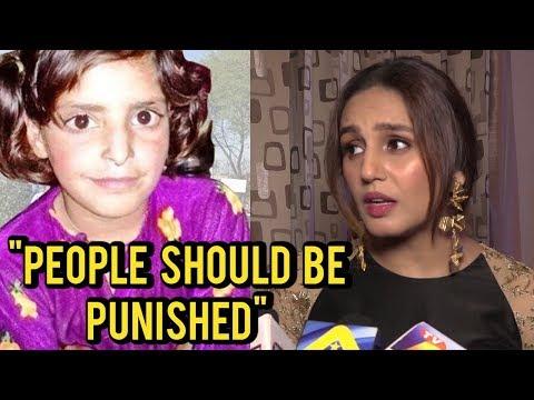 Huma Qureshi REACTS On Kathua Case | #JUSTICEFORAS