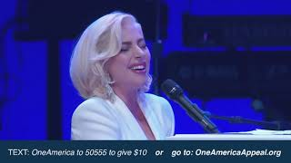 Video Lady Gaga - Million Reasons / Yoü and I / The Edge of Glory live at One America Appeal MP3, 3GP, MP4, WEBM, AVI, FLV Juni 2019