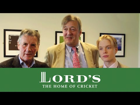 Palin - Michael Palin, Stephen Fry and Freddie Fox were at Lord's for the third day of the England v New Zealand Test. Lord's TV caught up with them in good spirits ...