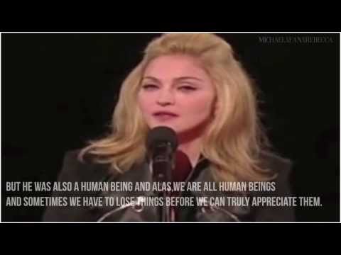 Madonna's tribute?| LONG LIVE THE KING | ?VMA 2009 w/subtitles HD
