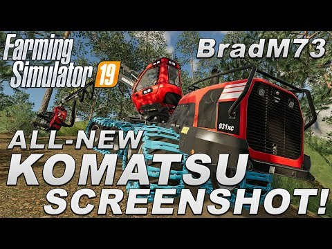 Komatsu Announced With New Screenshot!