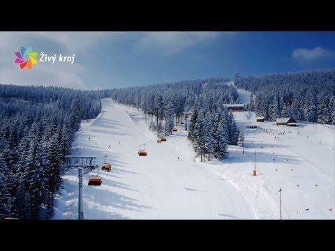 Krušné hory - zima