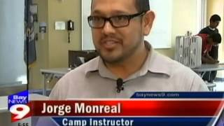 Watch a Bay News 9 broadcast about FLATE's Summer Energy Camp