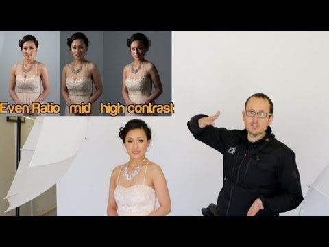 Portrait lighting ratios