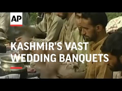 Video Kashmir's vast wedding banquets concern environmental groups download in MP3, 3GP, MP4, WEBM, AVI, FLV January 2017