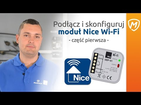 Moduł Nice Wi-Fi- Część 1- Jak podłączyć i skonfigurować sterownik