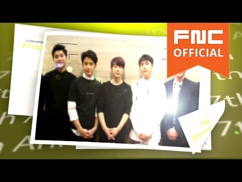 [FTISLAND] 7th Anniversary Message to PRIMADONNA
