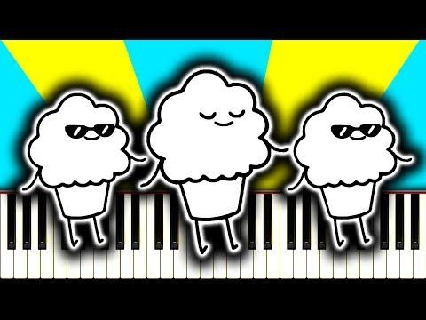 THE MUFFIN SONG (asdfmovie ft. Schmoyoho) - Piano Tutorial