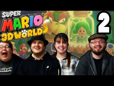 3d - Welcome to my co-op Let's Play of Super Mario 3D World! Over the next week or two, we will be tackling this AWESOME new game for the Wii U! Andy - http://twi...