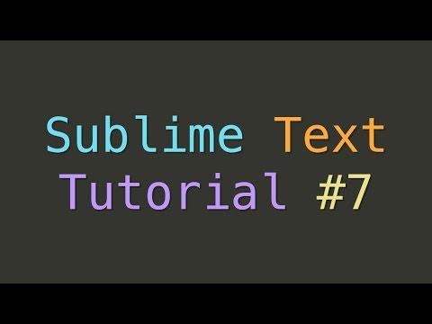 Sublime Text Emmet (Tutorial #7)