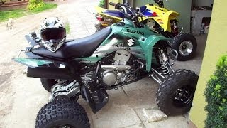4. 2012 Suzuki LT-Z400 Limited Edition | First ride | Atv sport quad | Road street ltz 400 z400 GoPro