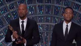"""Glory"" from ""Selma"" winning Best Original Song"