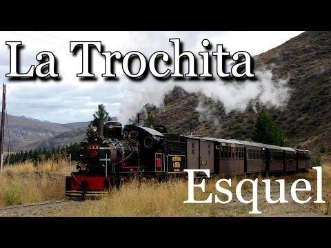 """Recorrido Tren """"La Trochita"""": Imágenes desde el aire"""