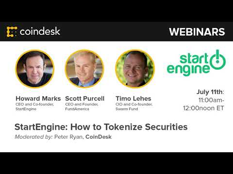 How To Tokenize Securities - Webinar by CoinDesk video