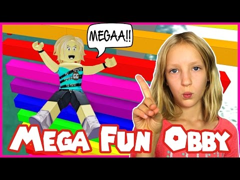 Mega Fun Easy Obby in Roblox / I'm Not Karina (видео)