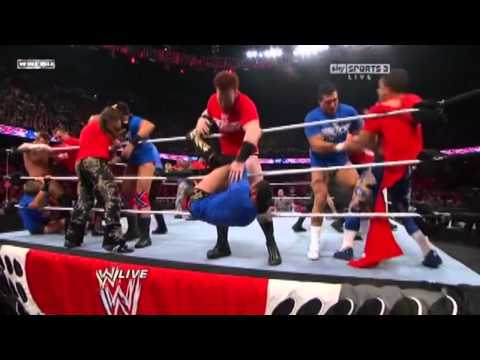 raw - WWE Raw 10/18/10 Smackdown vs Raw Battle Royal.