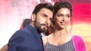 Deepika Padukone&Ranveer Singh promote 'Ram-leela' in Delhi