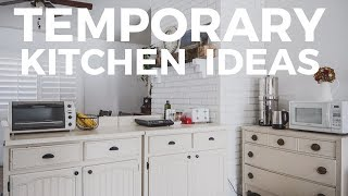 The BEST Temporary Kitchen (for survival during a remodel)