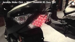 10. YAMAHA 2011 RS Zero 儀表和尾燈