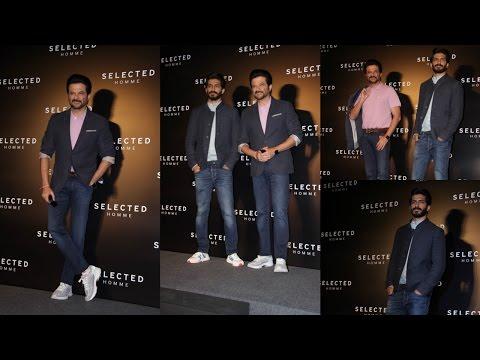 Anil Kapoor & Harshvardhan Kapoor Launching Premium Menswear Collection