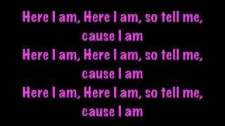 Nicki Minaj - Here i am with lyrics - Pink Friday