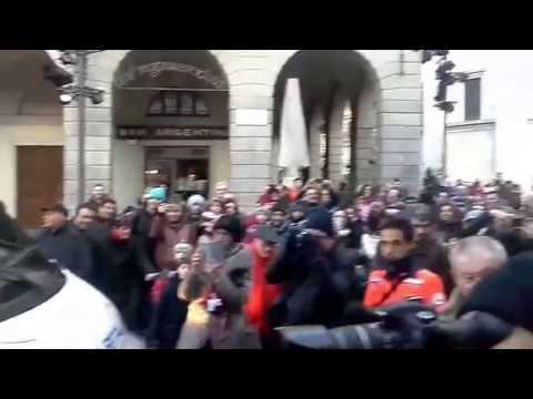 Balocchi 2016: ecco l'arrivo di Babbo Natale in piazza Grimoldi