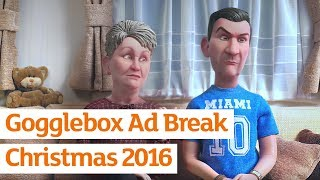 Gogglebox - Stop Motion Ad Break - Official Sainsbury's Christmas