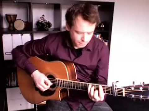 Moon River on acoustic solo guitar