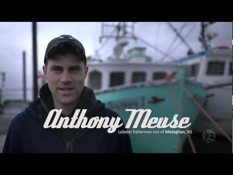 Anthony Meuse - Lobster fisherman out of Meteghan, NS