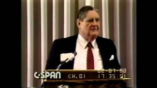 Heflin (AL) United States  city photos gallery : Alabama U.S. Senator Howell Heflin Tells Jokes in 1988